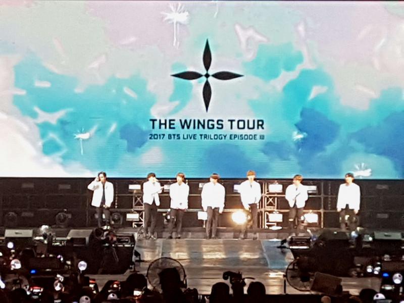 THE WINGS TOUR 2017 BTS LIVE TRILOGY