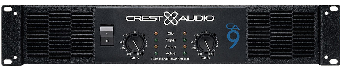 Amplifiers Crest Audio CA9